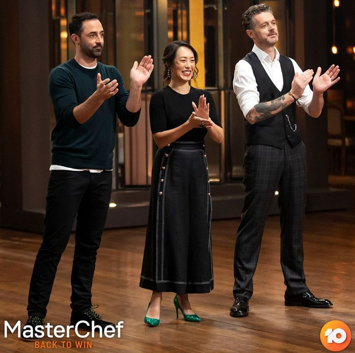 'MasterChef Australia: Back To Win' judges Andy Allen, Melissa Leong and Jock Zonfrillo