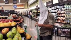 Shopper In Ku Klux Klan Hood Alarms Customers In