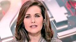 El guiño de Raquel Martínez, de TVE, a su madre en directo:
