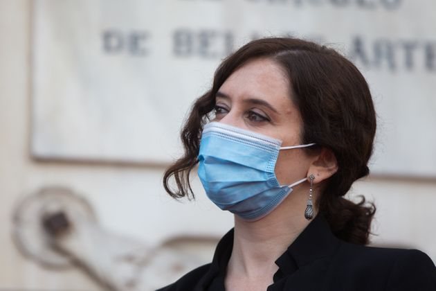 La presidenta de la Comunidad de Madrid, Isabel Díaz Ayuso, el pasado 2 de mayo, día de...