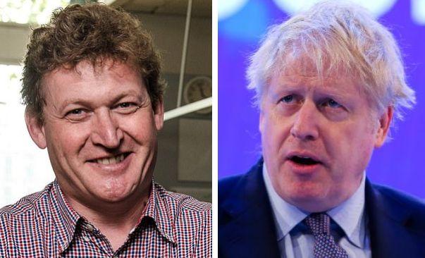 Il dottor Nicholas Hart e il premier Boris