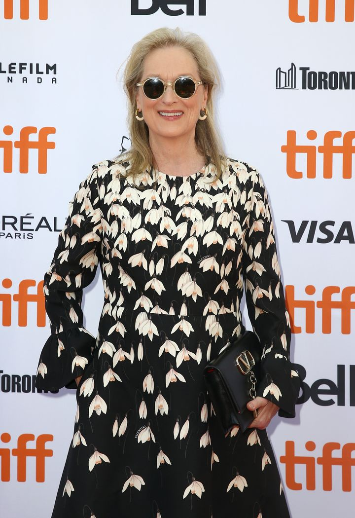 Meryl Streep at the premiere of The Laundromat in 2019
