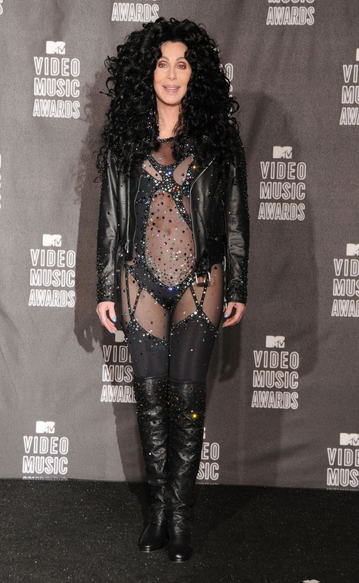 Cher at the MTV VMAs in 2010