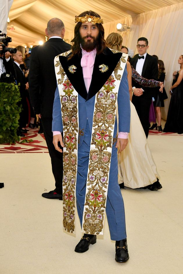Jared Leto at the Met Gala in