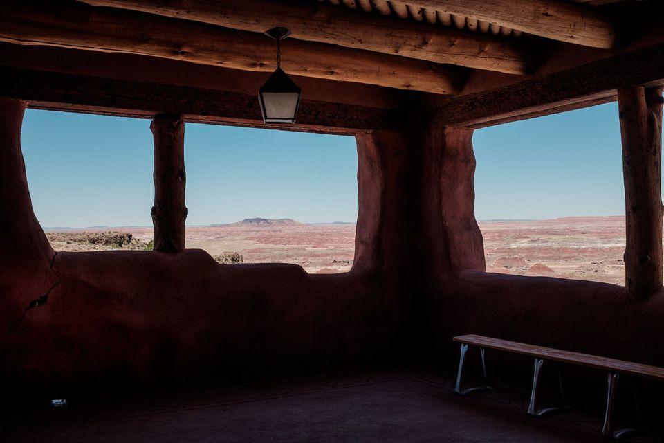 化石の森国立公園・アメリカ・アリゾナ州・2017年