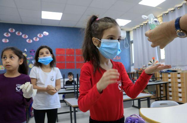 En Israël, dans une école primaire
