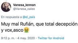 ERC no apoyará el estado de alarma y en Twitter rescatan esta frase de Rufián de hace un