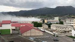 Un incendio en una fábrica de cloro obliga a confinar a la población de Sabiñánigo