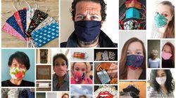 """Ces Français nous racontent leur relation au masque fait maison, leur nouvel """"objet"""