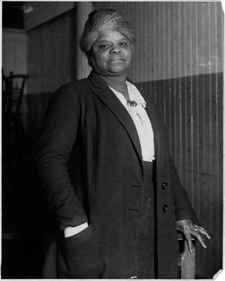 Ida B. Wells in 1920.