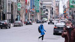 COVID-19: la courbe épidémique de Montréal tarde à s'aplatir, selon la