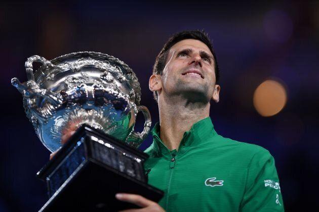 El tenista Novak