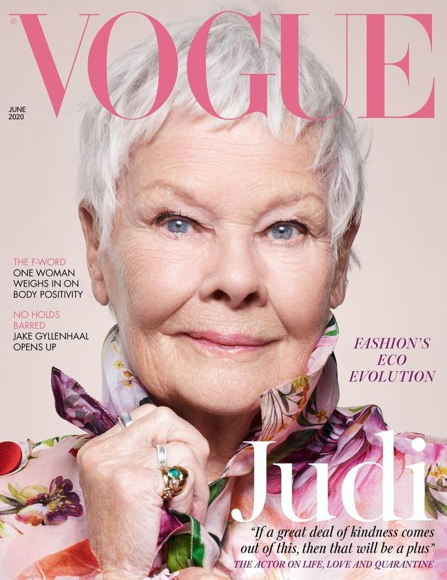 Dame Judi is Vogue's oldest ever cover