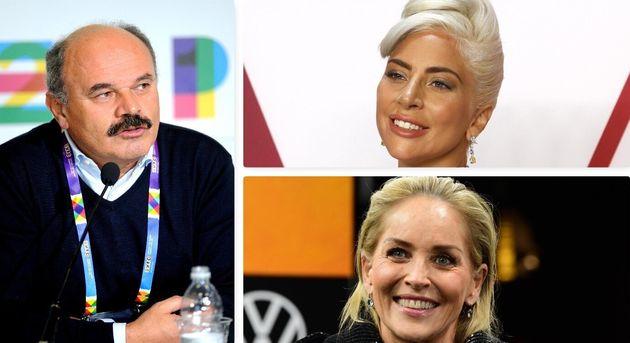 Farinetti/Lady Gaga/Sharon