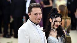 Elon Musk et Grimes accueillent leur premier