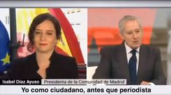 Errejón, indignado por el comentario de este periodista a Díaz Ayuso: