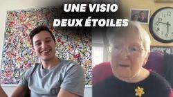 Florian Thauvin surprend Odette le jour de ses 96