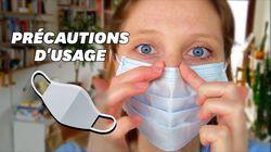 Pour bien porter le masque, 5 gestes essentiels à