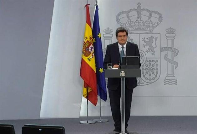 José Luis Escrivá, ministro de Inclusión, Seguridad Social y