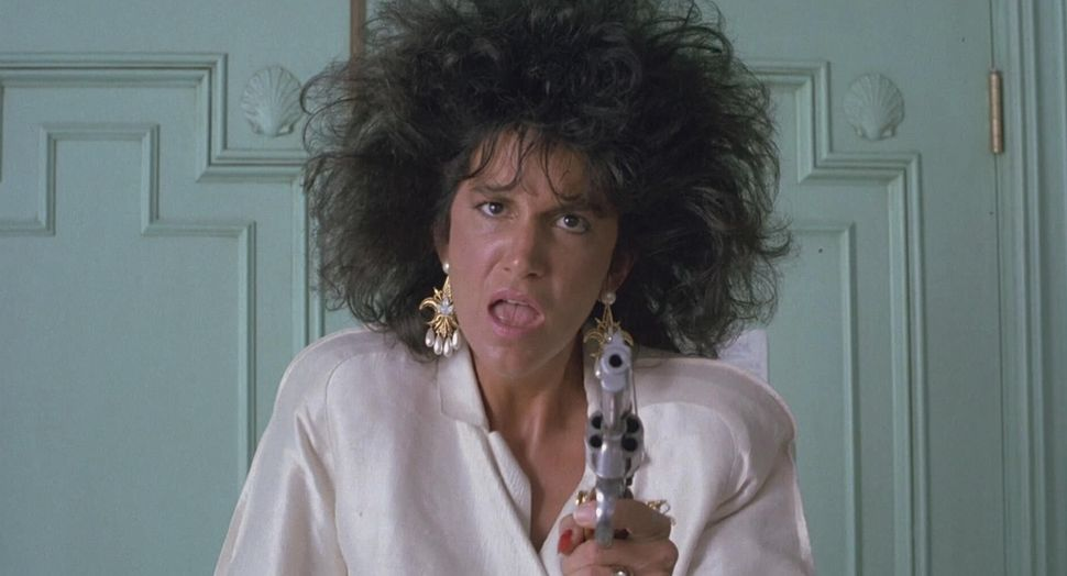 """Mercedes Ruehl in """"Married to the Mob."""""""