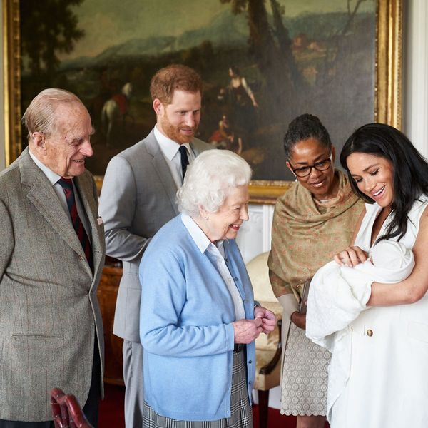 Archie meets Queen Elizabeth II and Prince Charles at Windsor Castle, along with Doria Ragland, Meghan's mother.