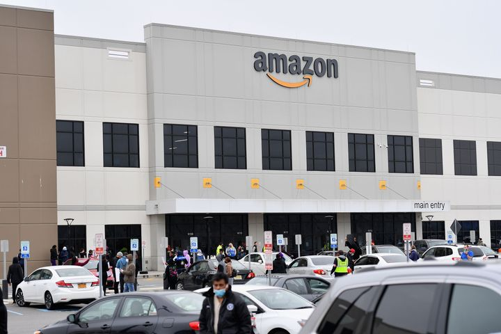 Workers at Amazon's Staten Island warehouse strike for the facility to be shut down and cleaned after one staffer tested posi