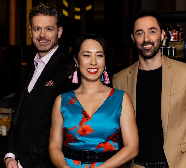 'MasterChef Australia: Back To Win' judges Jock Zonfrillo, Melissa Leong and Andy Allen