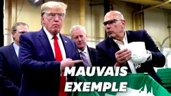 Trump visite une usine de masques... sans masque (malgré les