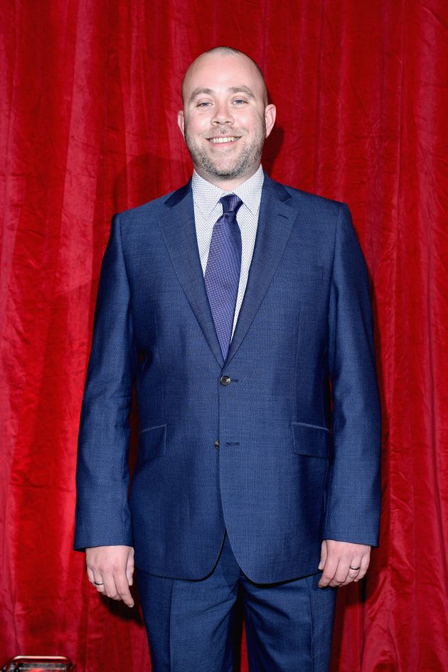 Iain at the British Soap Awards in