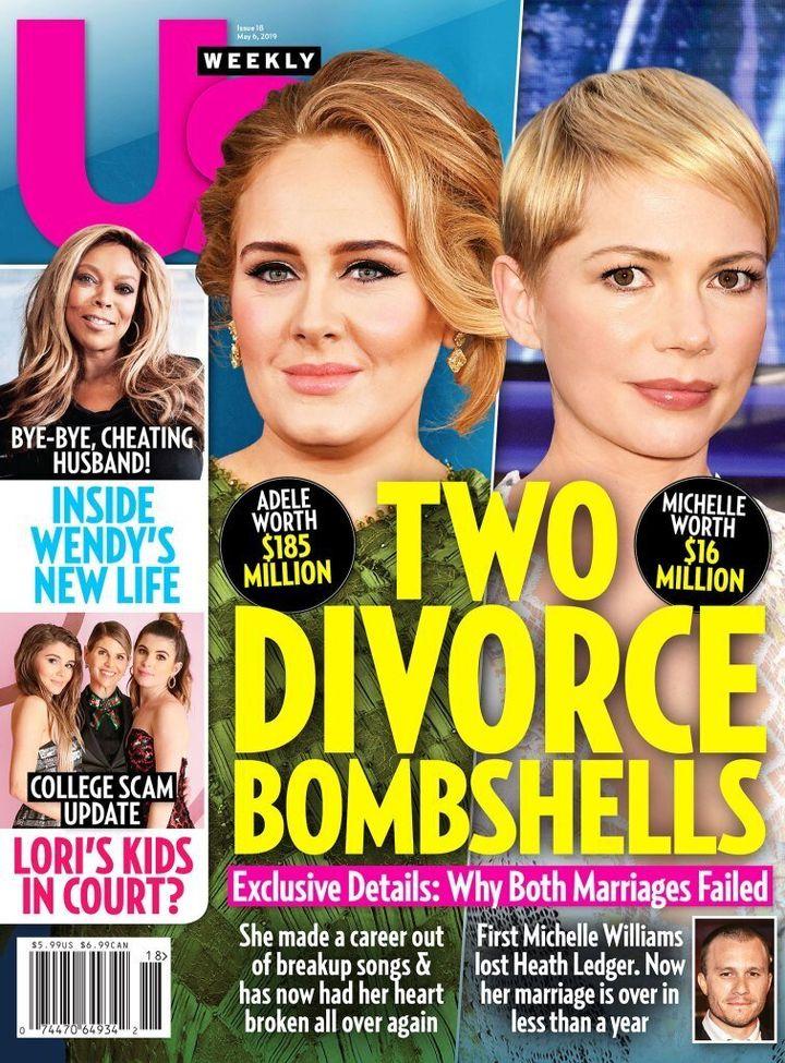 Adele, en la portada de 'UK Weekly' el 6 de mayo de 2019.