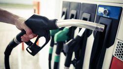 Hausse du prix de l'essence à