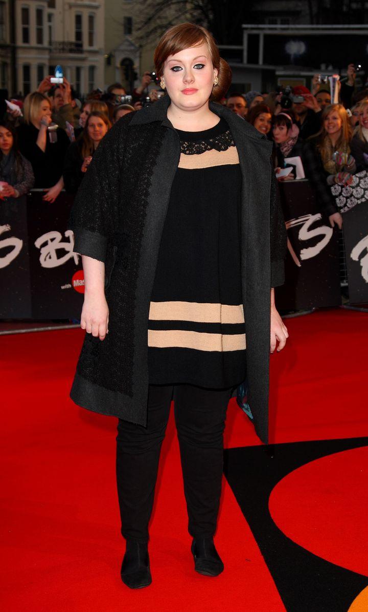 Adele, en una imagen de 2008.