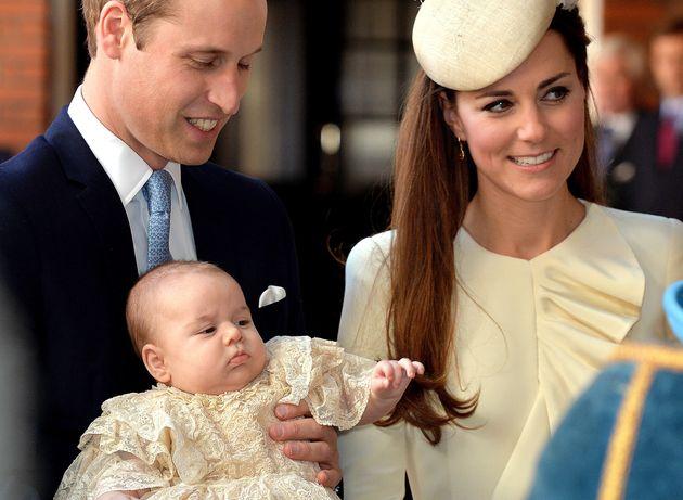 Il battesimo del principe George nel