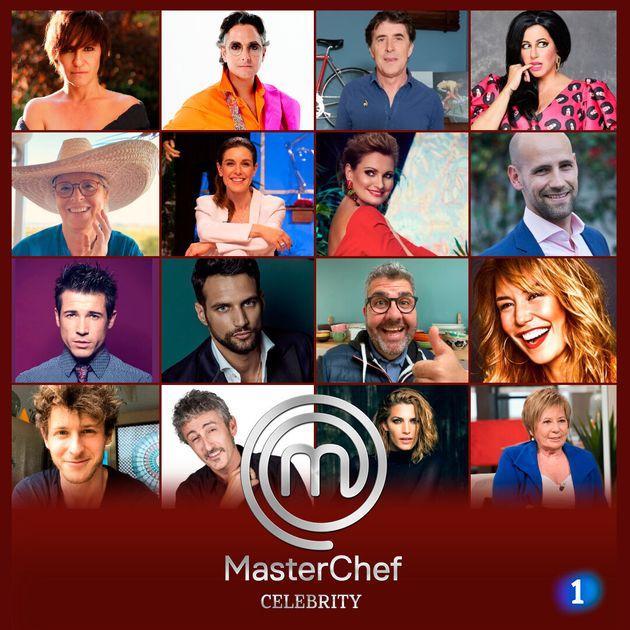 Estos son los 16 concursantes de 'MasterChef Celebrity