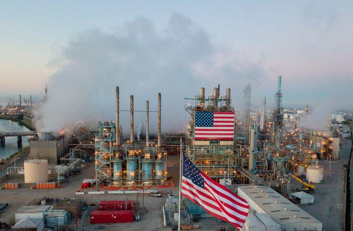 Marathon Petroleum Corp.'s Los Angeles Refinery in Carson, California.