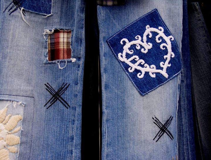 Patches are not only great to patch up holes, they're also a fun way to express your style and personality.