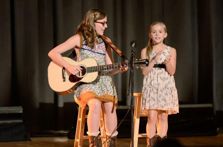 "Lennon and Maisy Stella are seen here in Season 1 of ""Nashville."""