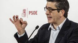 El PSOE propone a Patxi López para presidir la comisión de