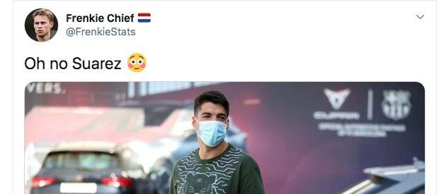 Cachondeo por este detalle de un jugador del Barça al hacerse los test: salta a la