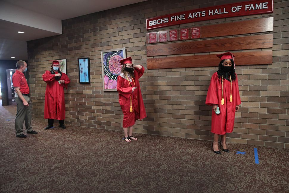 Photos Show What One High School Graduation Looks Like During The Coronavirus