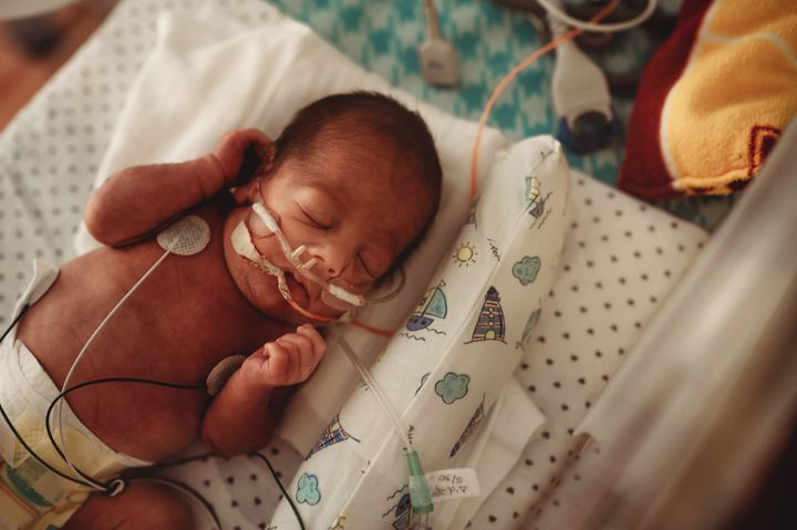 Music and recordings of Mom or Dad's voice can help soothe preemies.