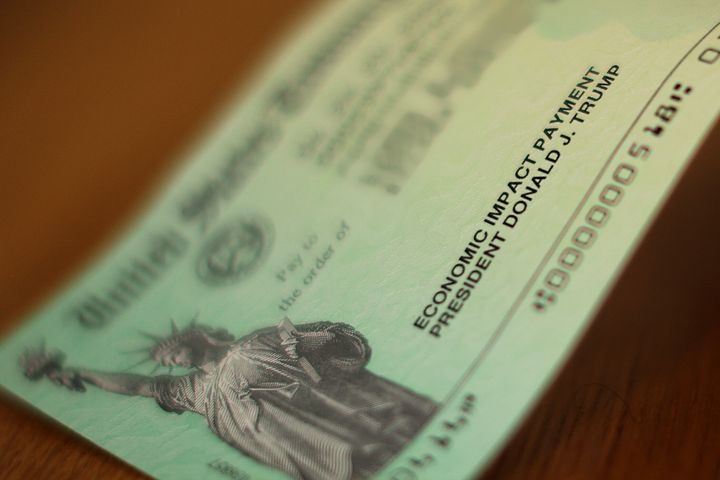 President Donald Trump's name appears on the coronavirus economic assistance checks that were sent to citizens across the cou