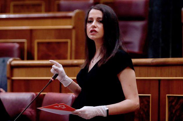 La líder de Ciudadanos, Inés