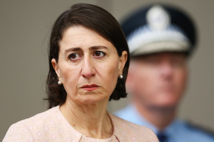 Premier of NSW, Gladys Berejiklian. (Photo by Brendon Thorne/Getty Images)
