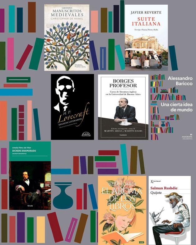 Dickens, Lovecraft, Borges… Rescate de libros sobre libros y escritores eclipsados por el