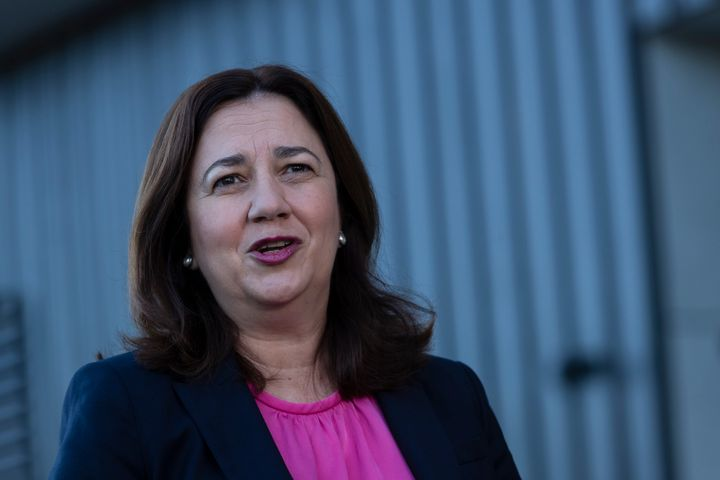 QLD Premier Annastacia Palaszczuk (Photo by Brook Mitchell/Getty Images)