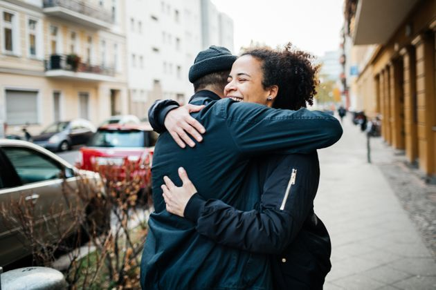 Hugs between close friends and family will soon be allowed in