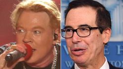 Axl Rose And Steve Mnuchin Are In The Middle Of 2020′s Strangest