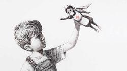 Banksy omaggia medici e infermieri, i nuovi