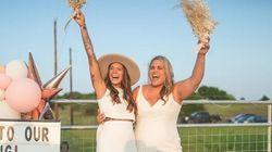 新型コロナで結婚式中止…の代わりに行われた、斬新なアイデアがすごかった。